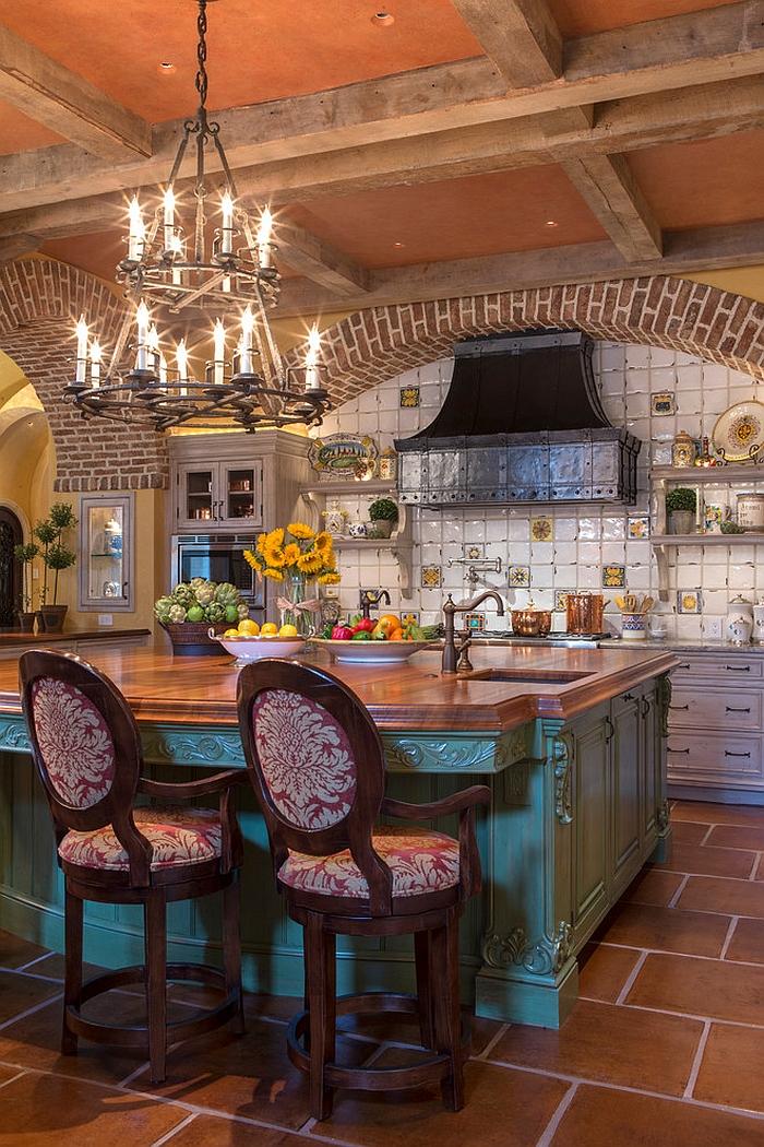 How to Design an Inviting Mediterranean Kitchen