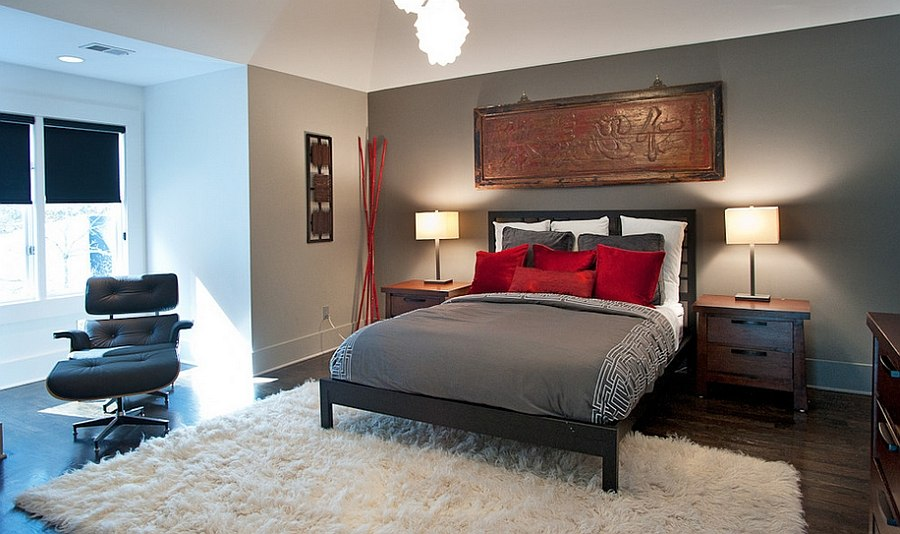 gray and red living room decorating ideas for black white polished passion 19 dashing bedrooms in asian inspired bedroom design atmosphere 360 studio
