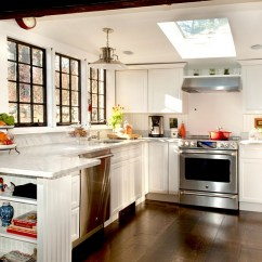 Kitchen Skylights Pub Style Set 25 Captivating Ideas For Kitchens With Beautiful Farmhouse A Skylight From Mary Prince Photography
