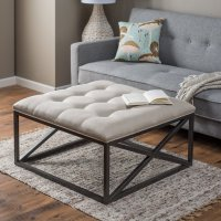 8 Plush Tufted Ottomans to Add Comfort and Functionality ...
