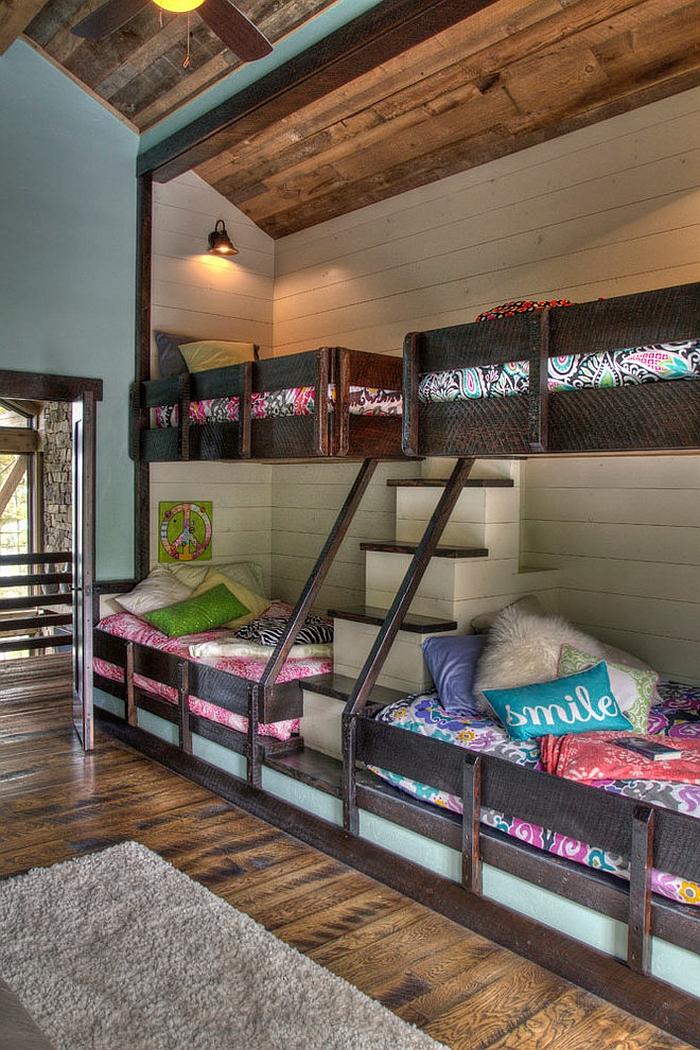 Rustic Kids Bedrooms 20 Creative Cozy Design Ideas