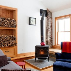 Cosy Living Room With Log Burner Tiny Seating The Artful Woodpile 30 Fabulous Firewood Storage Ideas Cozy Eclectic A Fireplace At Its Heart Photography Rikki Snyder