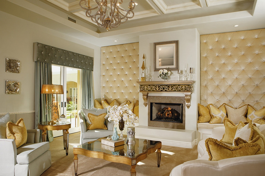 living room entertainment wall ideas indian idea 11 trendy rooms with tufted panels