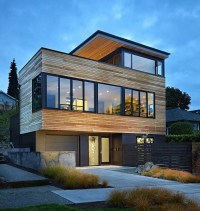 Contemporary Cycle House by Chadbourne + Doss Architects