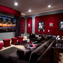 Living Room Ideas With Burgundy Leather Sofa Cream Corner Recliner 11 Trendy Rooms Tufted Wall Panels