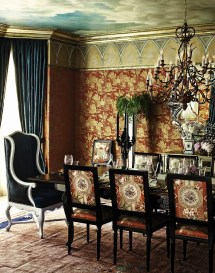 Create Sensational Dining Room With Red Panache