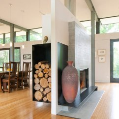 Living Room Firewood Holder Country Style Table Lamps The Artful Woodpile 30 Fabulous Storage Ideas Fireplace And Floating Wood Unit Separate Dining Rooms Design Mcinturff