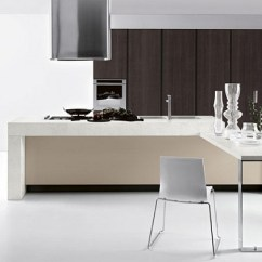 Kitchen Island With Shelves Renovations On A Budget 11 Inspired Contemporary Kitchens Compositional Freedom