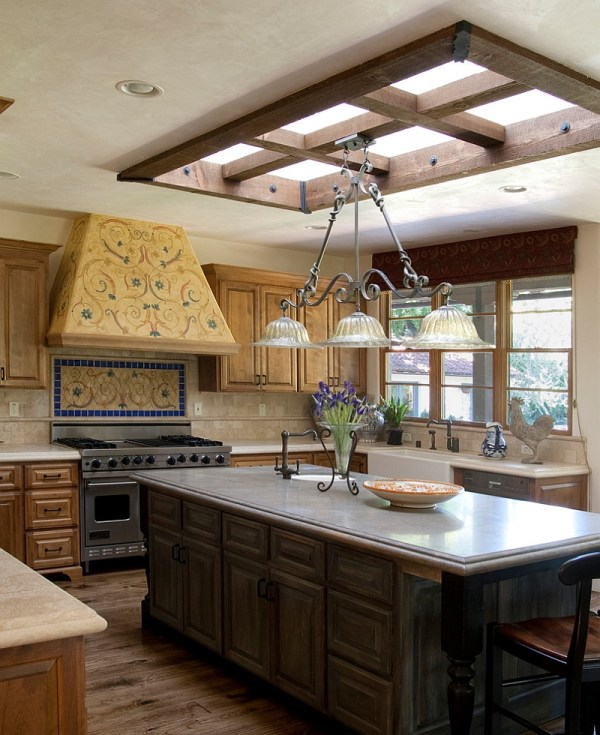 Captivating Ideas Kitchens With Skylights