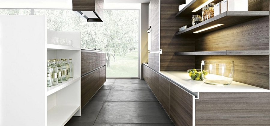 oak kitchen islands storage island 11 inspired contemporary kitchens with compositional freedom