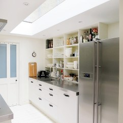 Kitchen Skylights Hgtv Remodel Shows 25 Captivating Ideas For Kitchens With Narrow Looks A Lot More Spacious Thanks To The Skylight Design Mad About