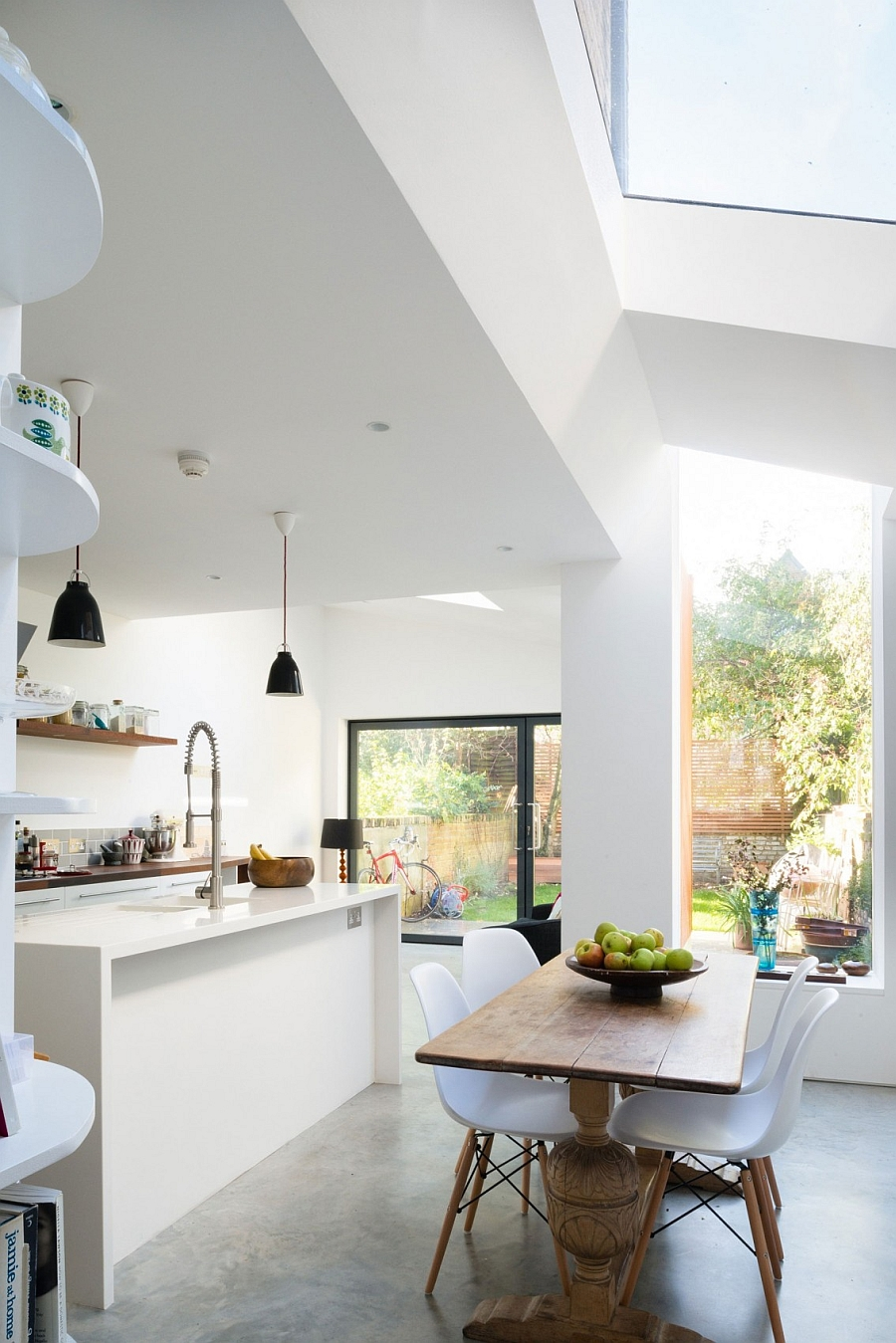 kitchen table nook walmart aid mixer modern victorian house extension by architecture for london