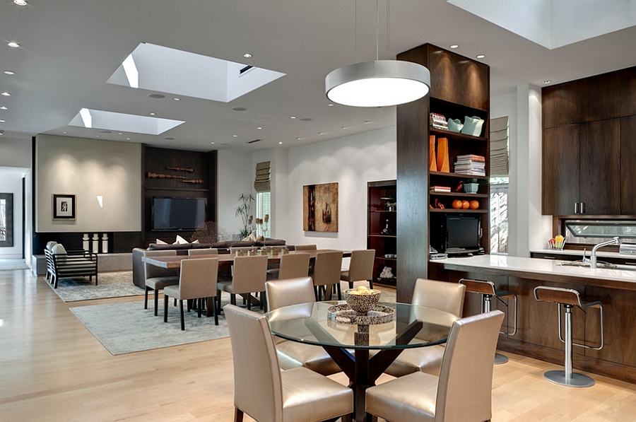 Open Dining Room Ceiling