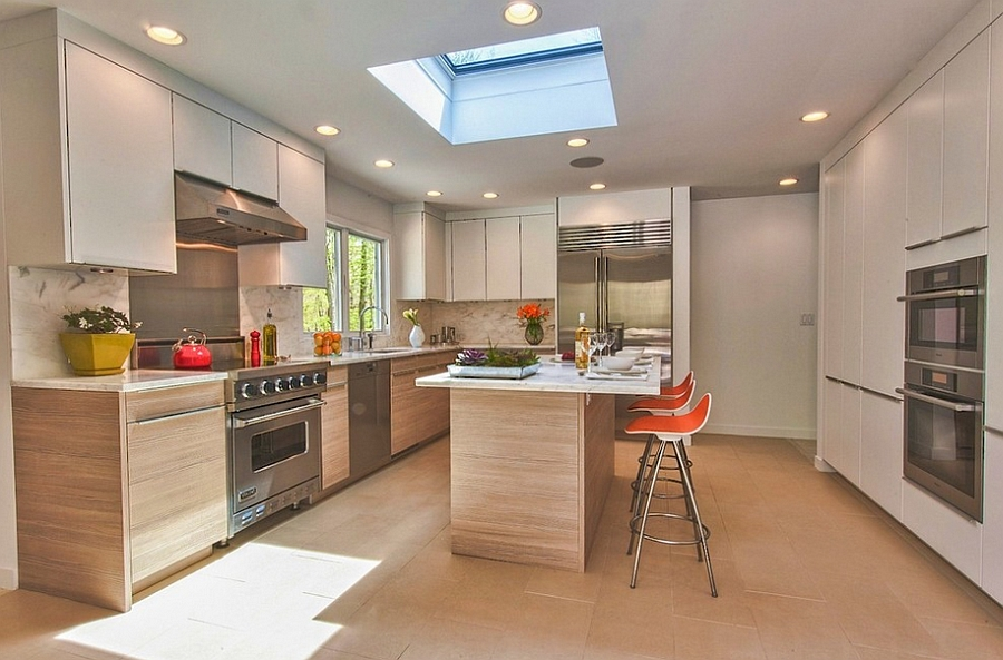 kitchen skylights hood ideas 25 captivating for kitchens with simple and stylish way to add the skylight design poggenpohl