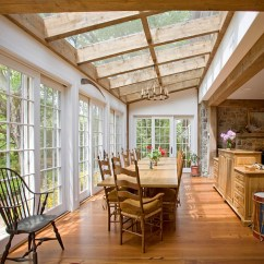 Traditional English Living Room Design Rooms Blue And Brown 27 Dining With Skylights That Steal The Show!