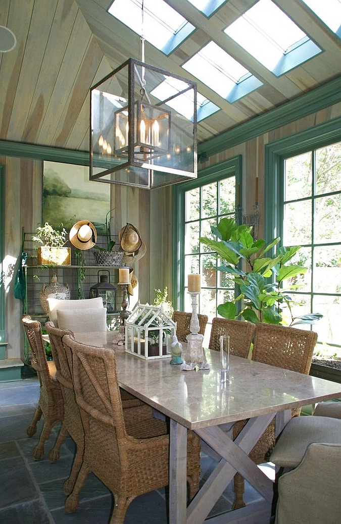 best living room decor formal end tables 27 dining rooms with skylights that steal the show!