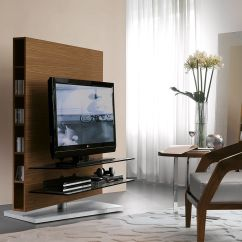 Living Room Tv Stand Country Decorated Rooms Pictures Contemporary Stands That Redefine The View In Gallery Additional Shelves And Nooks Offer Space For Accessories Books