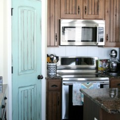 Kitchen Soap Cabinet Islands 8 Pretty Pantry Door Ideas That Showcase Your Storeroom As ...