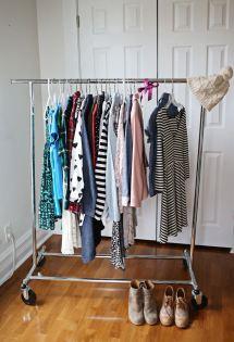 Organize Closet With Capsule Wardrobe