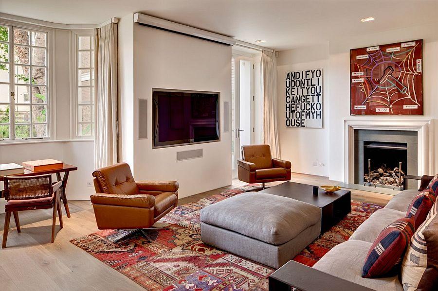 Living Room Contemporary Decor