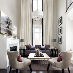 High Ceiling Living Room Decor Ideas Tables Ikea Sizing It Down How To Decorate A Home With Ceilings