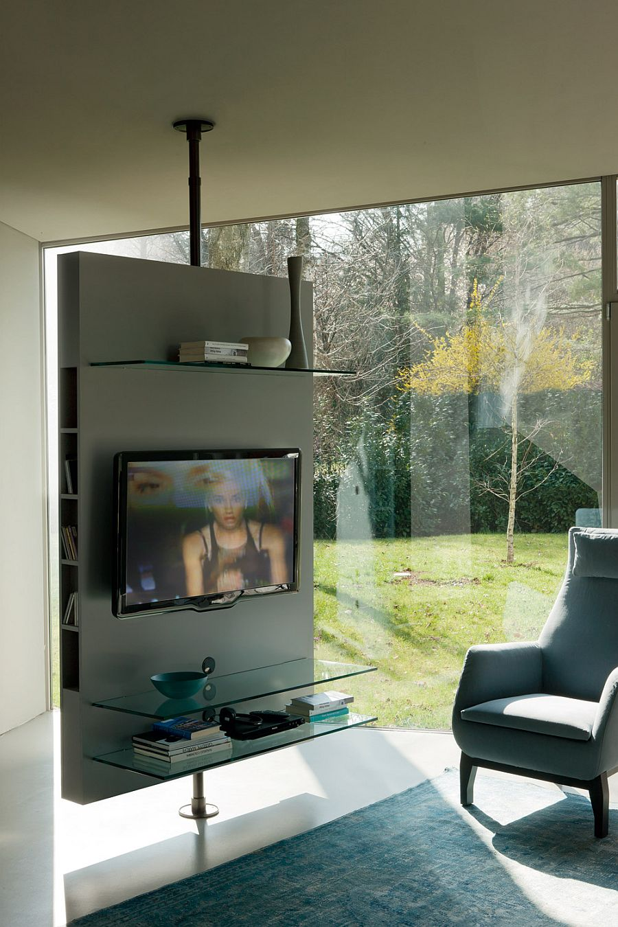 simple tv panel design for living room glider contemporary stands that redefine the