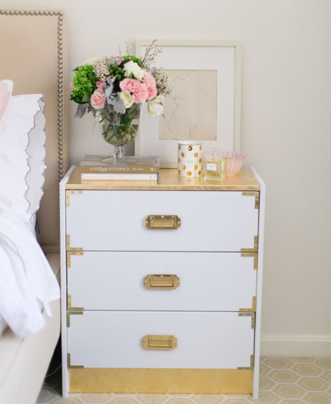 ikea bedroom chairs under the weather tent chair australia 8 awesome pieces of furniture you won t believe are hacks view in gallery rast redone as a gold nightstand