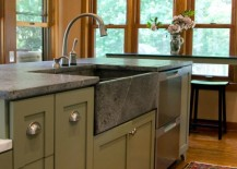 stone kitchen sink gas stoves get stoned 11 incredible sinks made from rock just because you fear the wear and tear consider a instead which has plenty of variability in design perhaps surprisingly color