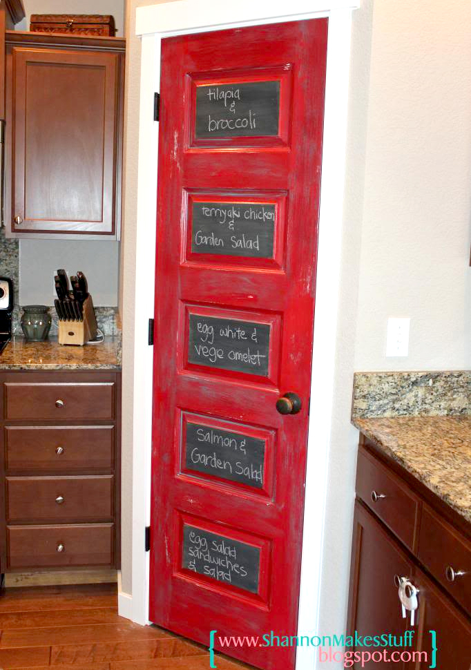 8 Pretty Pantry Door Ideas That Showcase Your Storeroom as a Star