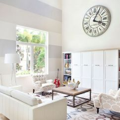 Accent Wall Paint Ideas For Living Room Furniture Styles 2016 15 Fabulous Rooms With Striped Walls View In Gallery Serene A Cool Design Krista Watterworth Studio