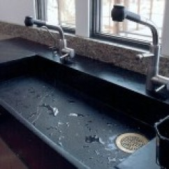 Stone Kitchen Sink Under Cabinet Led Lighting Get Stoned 11 Incredible Sinks Made From Rock Just Because You Fear The Wear And Tear Consider A Instead Which Has Plenty Of Variability In Design Perhaps Surprisingly Color