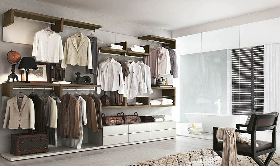 10 Stylish Open Closet Ideas For An Organized Trendy Bedroom
