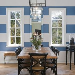 Contemporary Ideas For Living Rooms Wood Side Tables Room 10 Dining With Snazzy Striped Accent Walls
