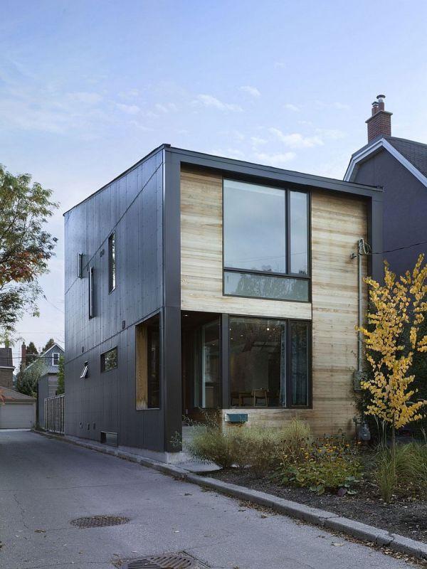 Modern Garden House In Toronto Lga Architectural Partners