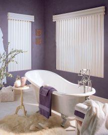 Purple and White Bathroom Ideas