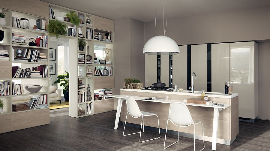 Corner Showcase Designs For Living Room Adaptable Kitchen Compositions That Showcase Trendy Fluidity