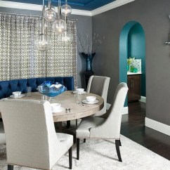 Living Rooms With Dark Gray Walls Mirror Room Tables 25 Elegant And Exquisite Dining Ideas