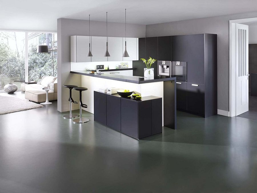 L Shaped Kitchen Peninsula