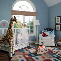 Yellow And Gray Accent Chair Foldable Floor Singapore 25 Brilliant Blue Nursery Designs That Steal The Show!