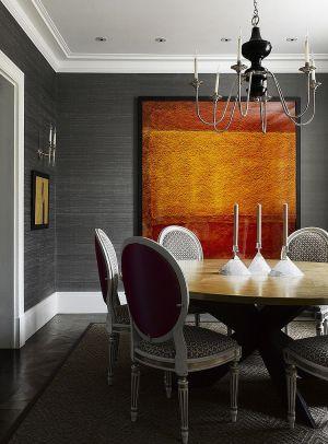 dining texture gray silk interior adds elegant pattern royal