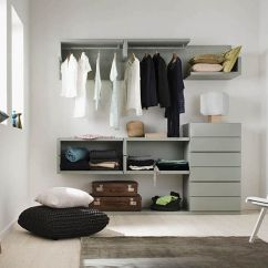 Living Room Closet Ideas Restoration Hardware Furniture 10 Stylish Open For An Organized Trendy Bedroom View In Gallery Smart Saves Up On Precious Space The
