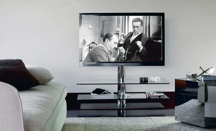 Trendy TV Units for the SpaceConscious Modern Home