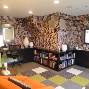 office stone walls wallpapers trends wall decor idea accent interiors company texture offices remodel decoist personal story cool medium floor
