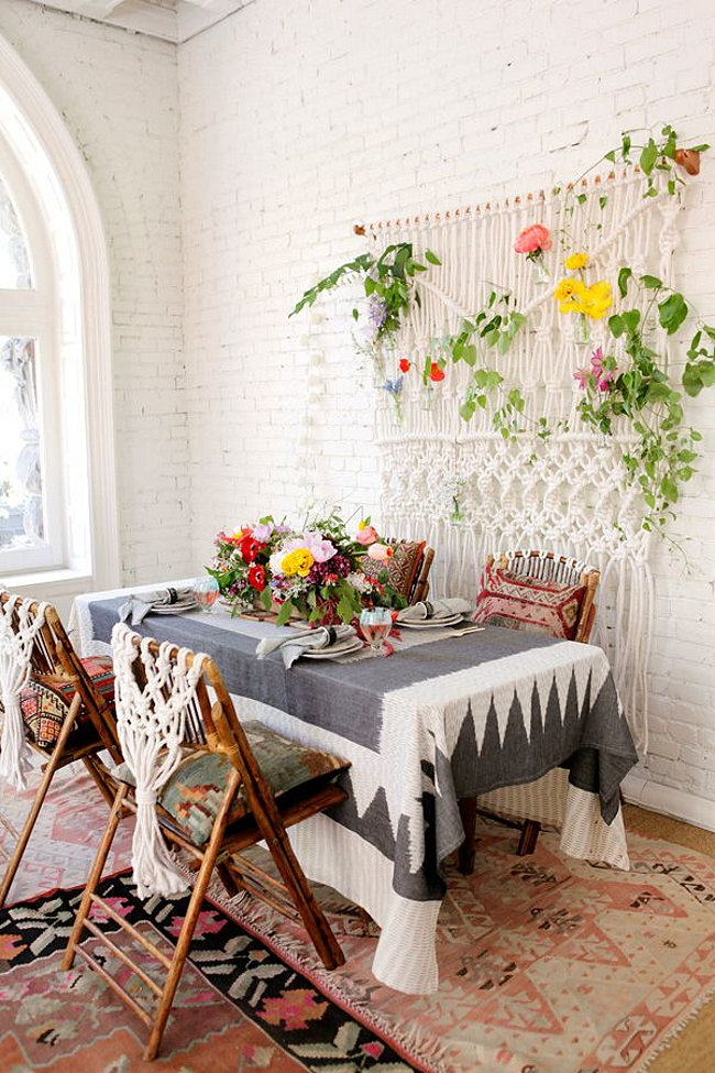 breakfast nook ideas for small kitchen ikea hardware 18 eclectic dining rooms with boho style