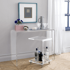 Ghost Bar Chair Kmart Dining Table And Chairs 8 Pieces Of Transparent Furniture That Give Any Room A Clear Advantage
