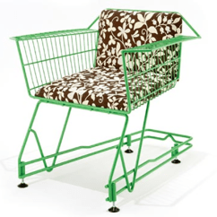 Bertoia Style Chair Round Bar Height Table And Chairs 8 Eco-chic Made From Recycled Materials