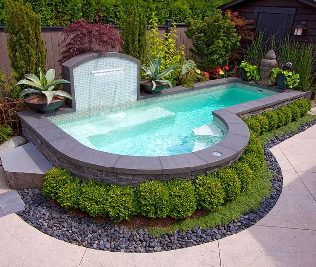 Cool Off This Summer In Your Small Backyard Pool Design Alka Pool Construction