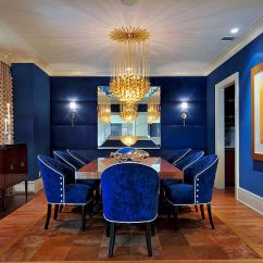 Blue Chair Living Room Simple Interior Design For In Philippines Dining Rooms 18 Exquisite Inspirations Tips View Gallery Fabulous Captivating Royal Carolyn Miller Interiors