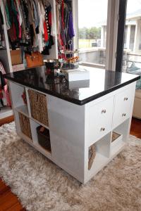 IKEA Hack Closet Island - Decoist