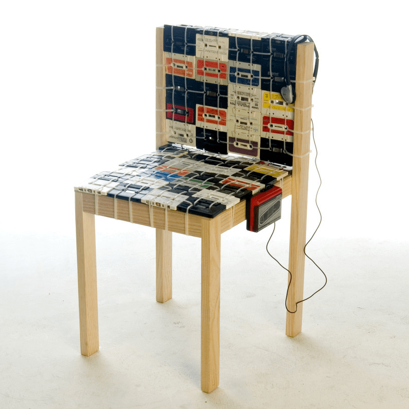8 EcoChic Chairs Made from Recycled Materials